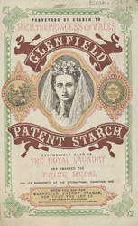 Advert For Glenfield Starch